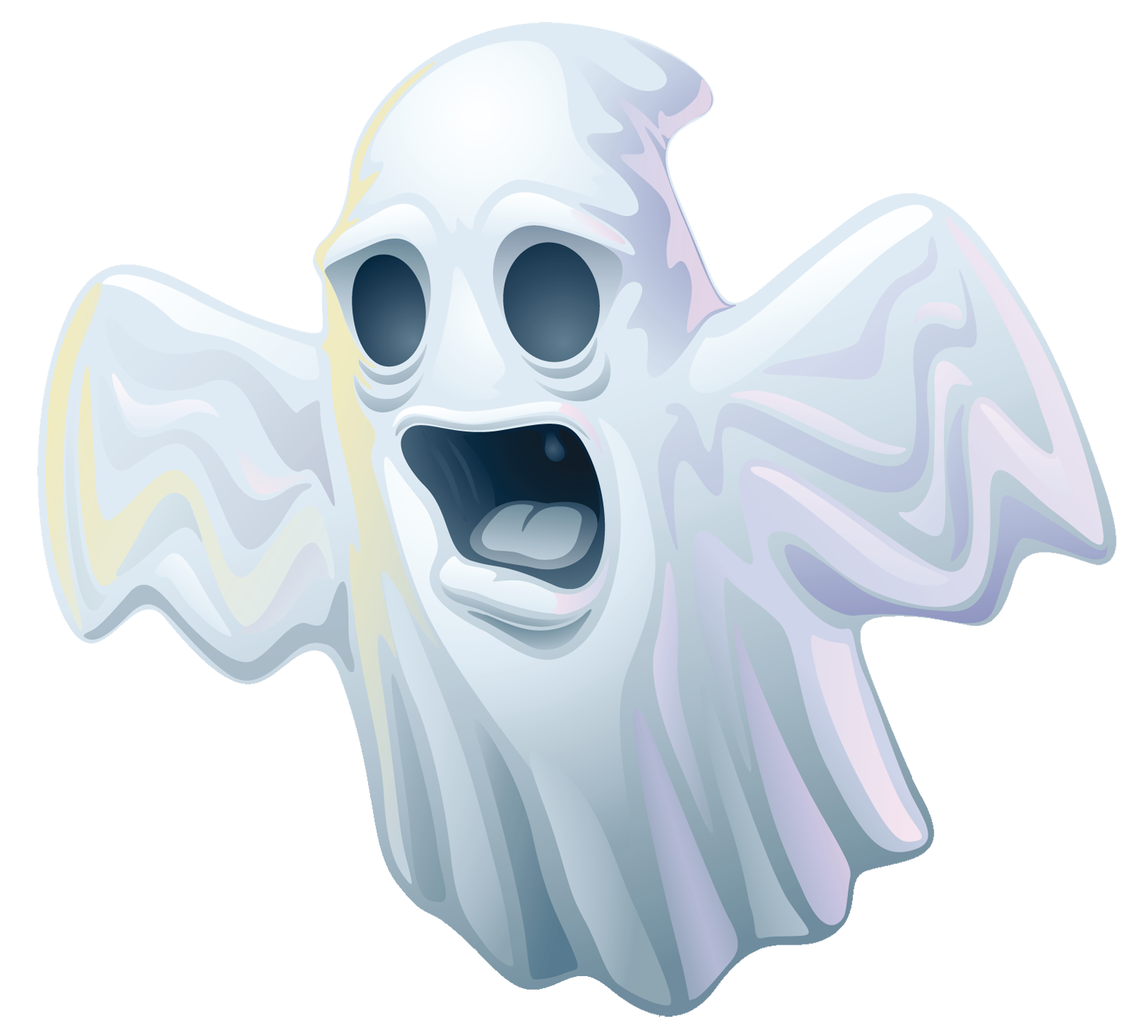 vector Creepy halloween png gallery. Ghost clipart.