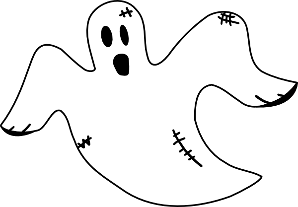 graphic freeuse library Ghost clipart. Clip art free panda.