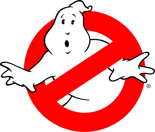 banner freeuse Ghostbusters logo