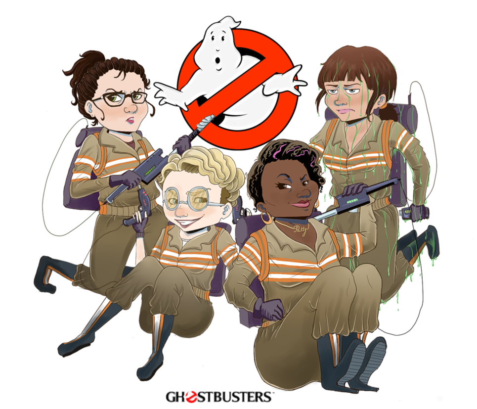 clipart library stock Ghostbusters by FattyAly on DeviantArt