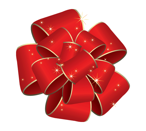 graphic royalty free download christmas bow transparent background