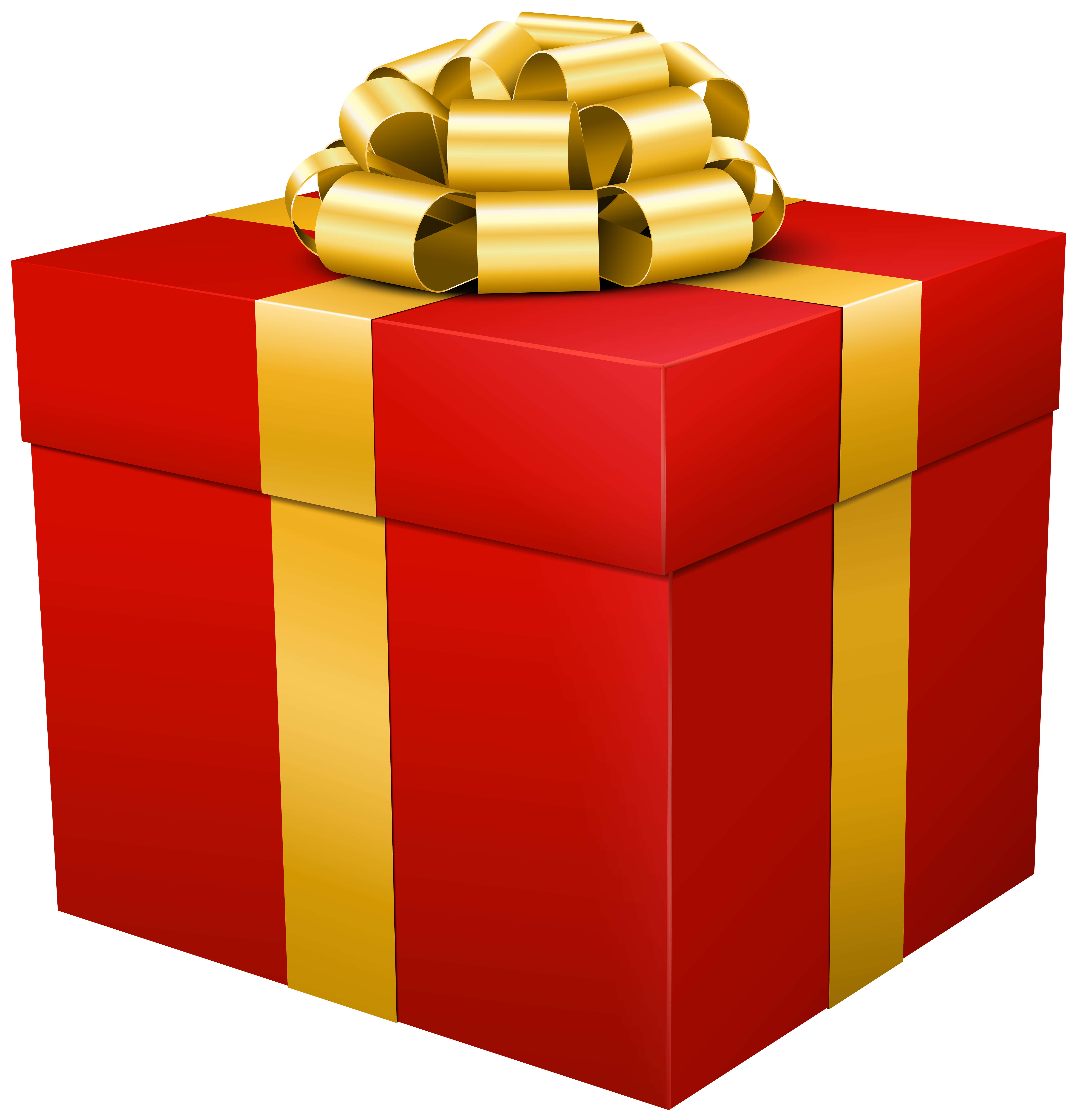png library Gift clipart. Red box transparent png