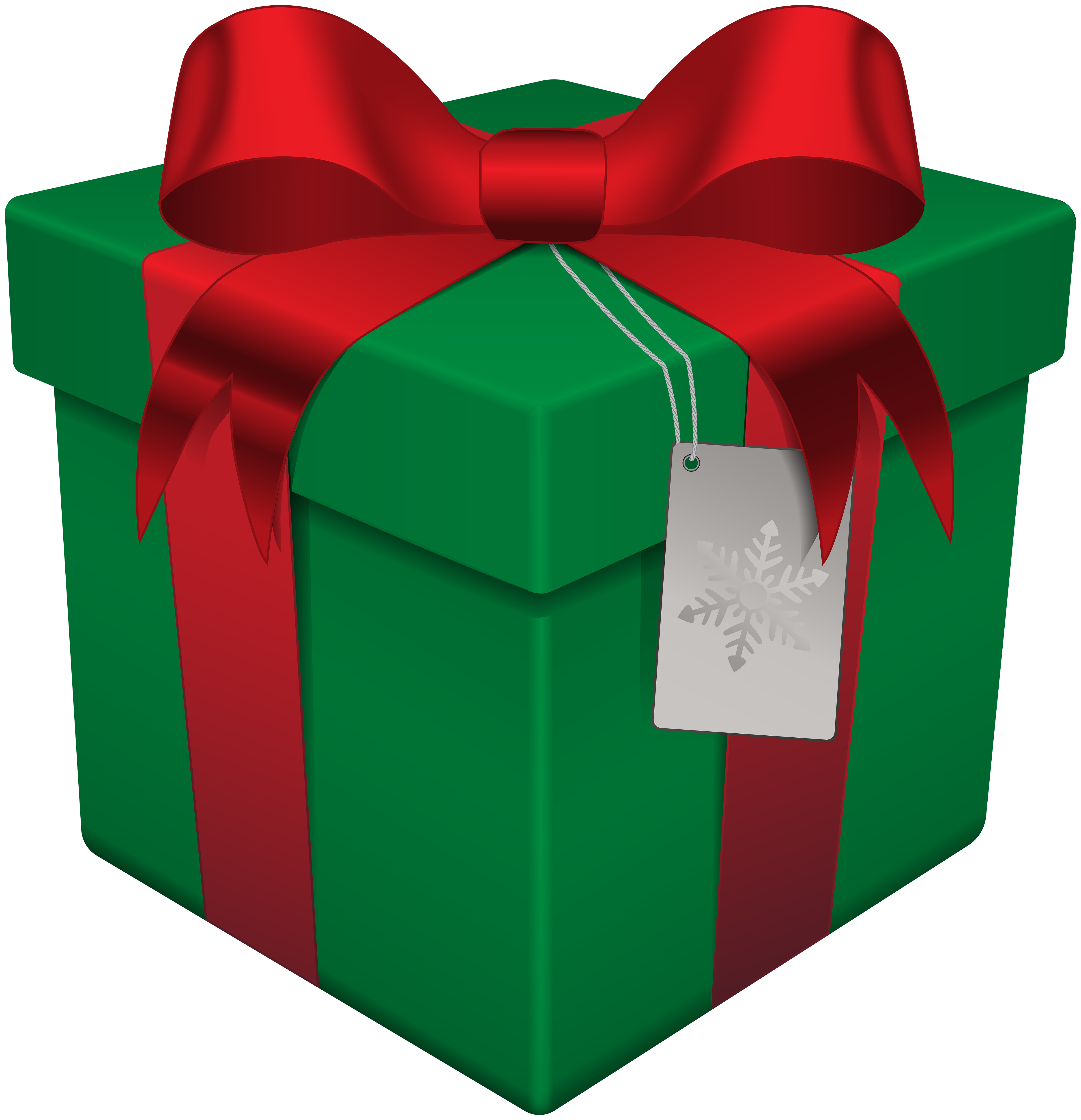 clip art royalty free download Christmas box green transparent. Gift clipart
