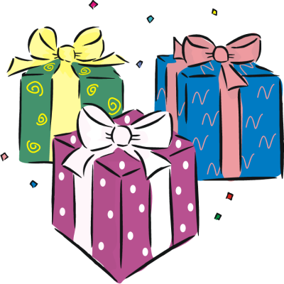 graphic stock Gift clipart. Download birthday present free