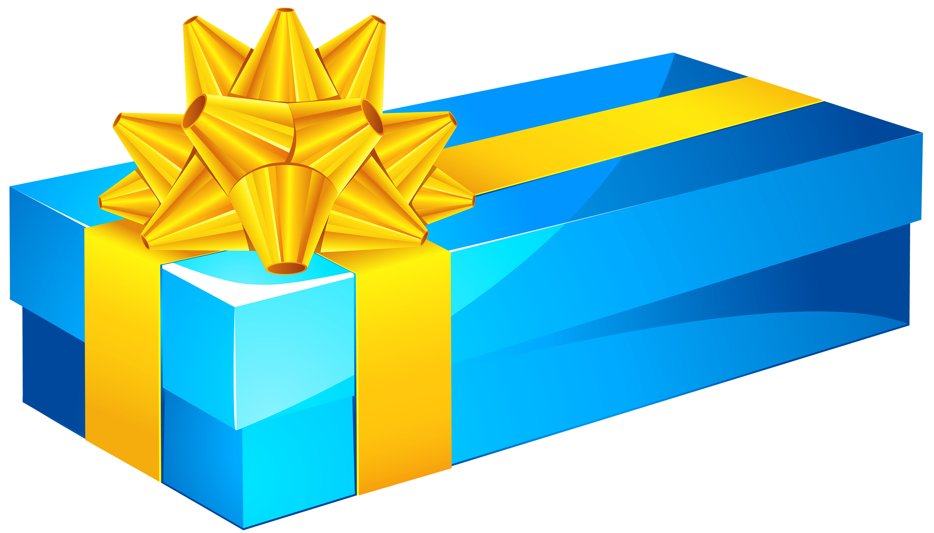 jpg royalty free stock Gift clipart. Blue box png best