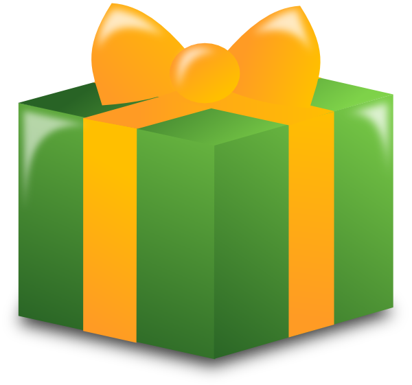 graphic library download Wrapped Present Clip Art at Clker