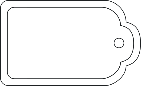png royalty free stock Plain Gift Tags Clipart