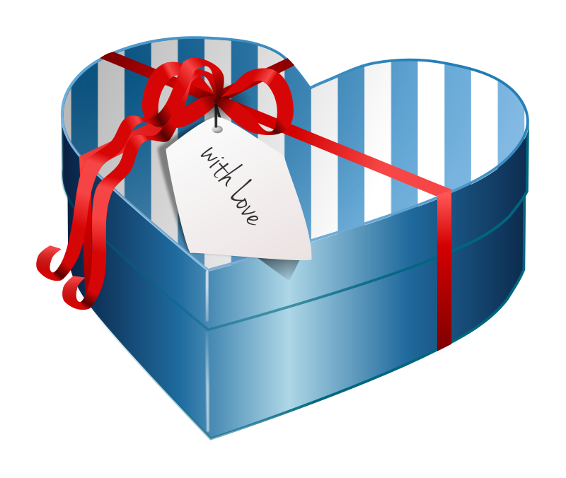 banner Gifts clipart. Gift box graphics of.