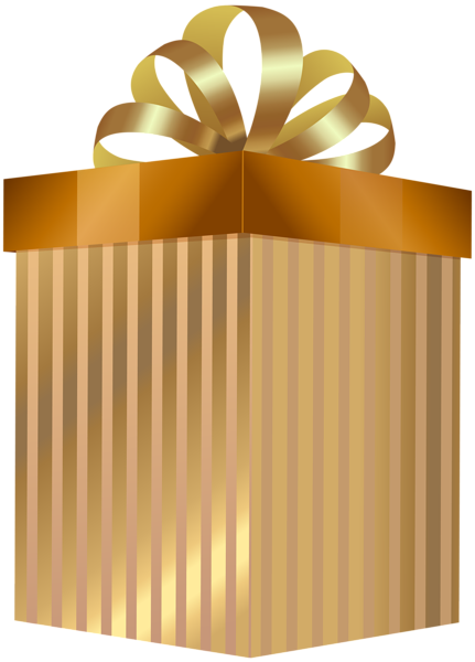 svg library download Gift box transparent png. Gifts clipart gold