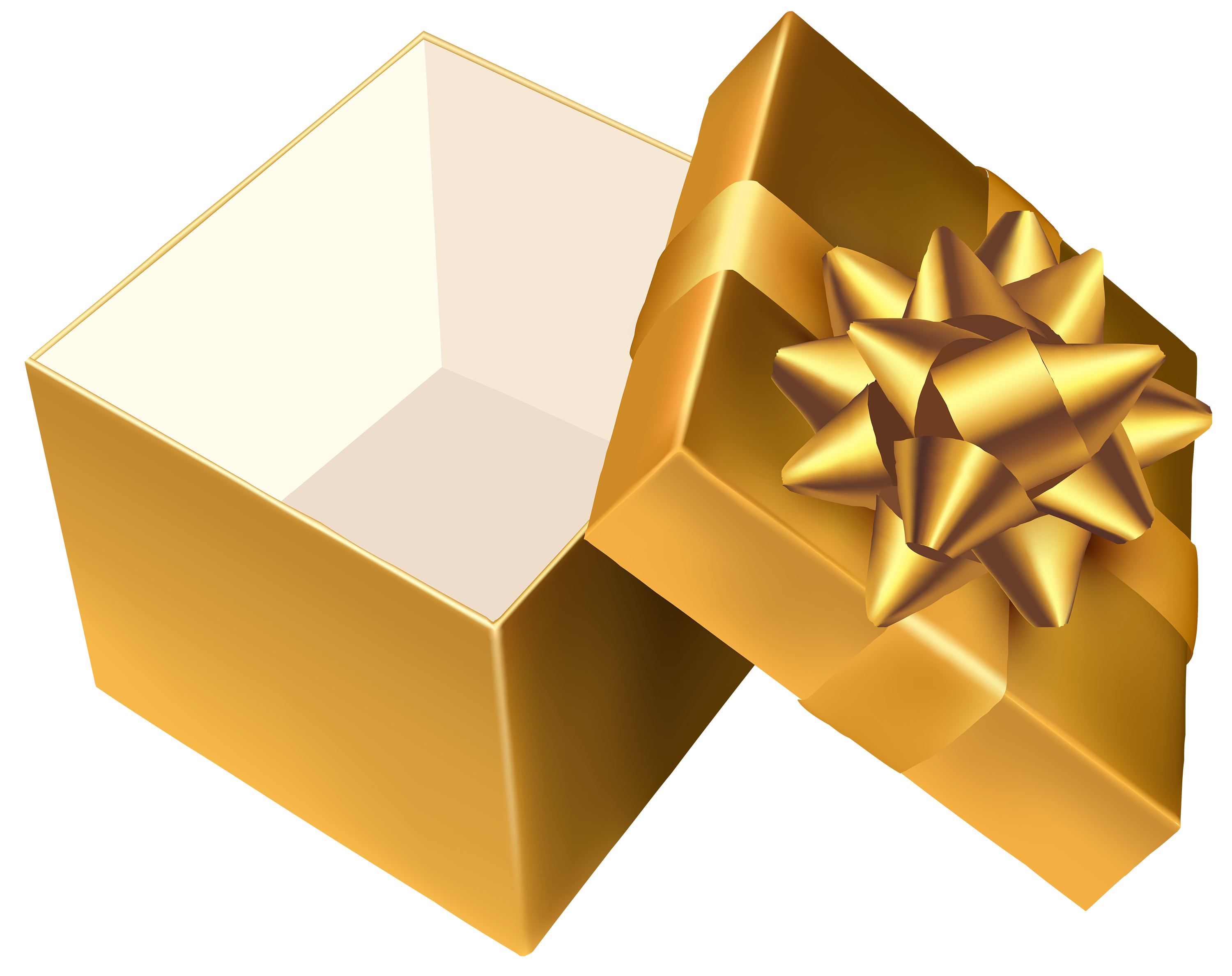 graphic free stock Open gift png best. Gifts clipart gold