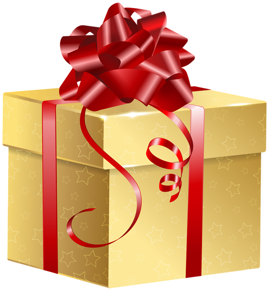 svg royalty free Gifts clipart gold. Gift png clip art