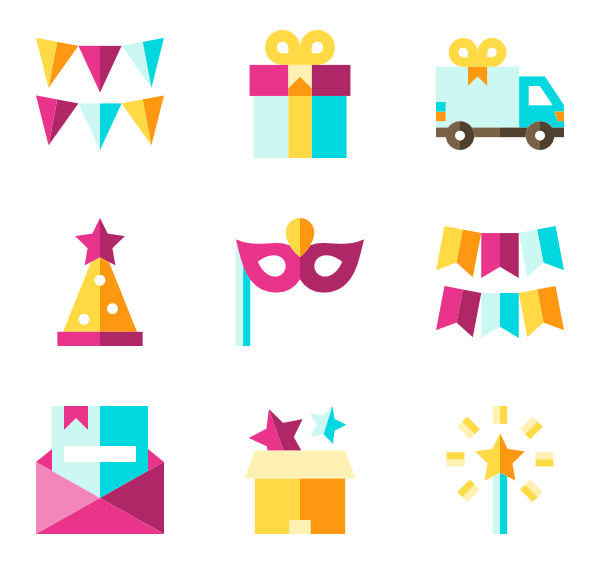 jpg transparent library Gift Icons