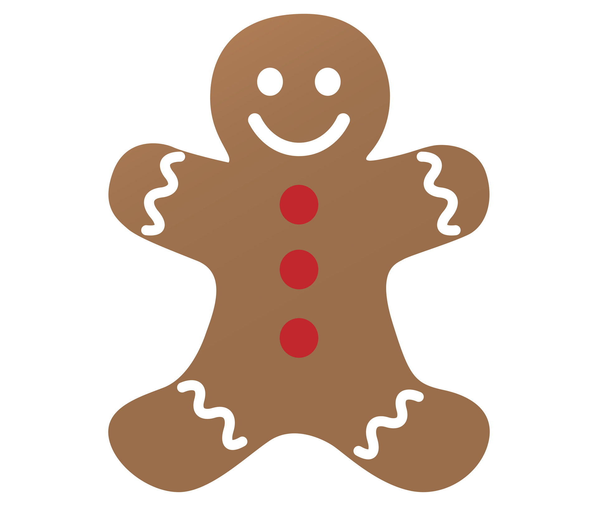 clipart freeuse library Free man cliparts download. Gingerbread clipart.