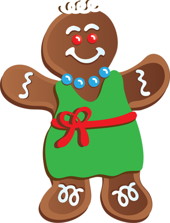png black and white download Gingerbread clipart. Clip art free panda.