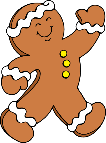 clipart Gingerbread clipart. Grade one tricks and.