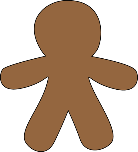 graphic free Man clip art free. Gingerbread clipart.