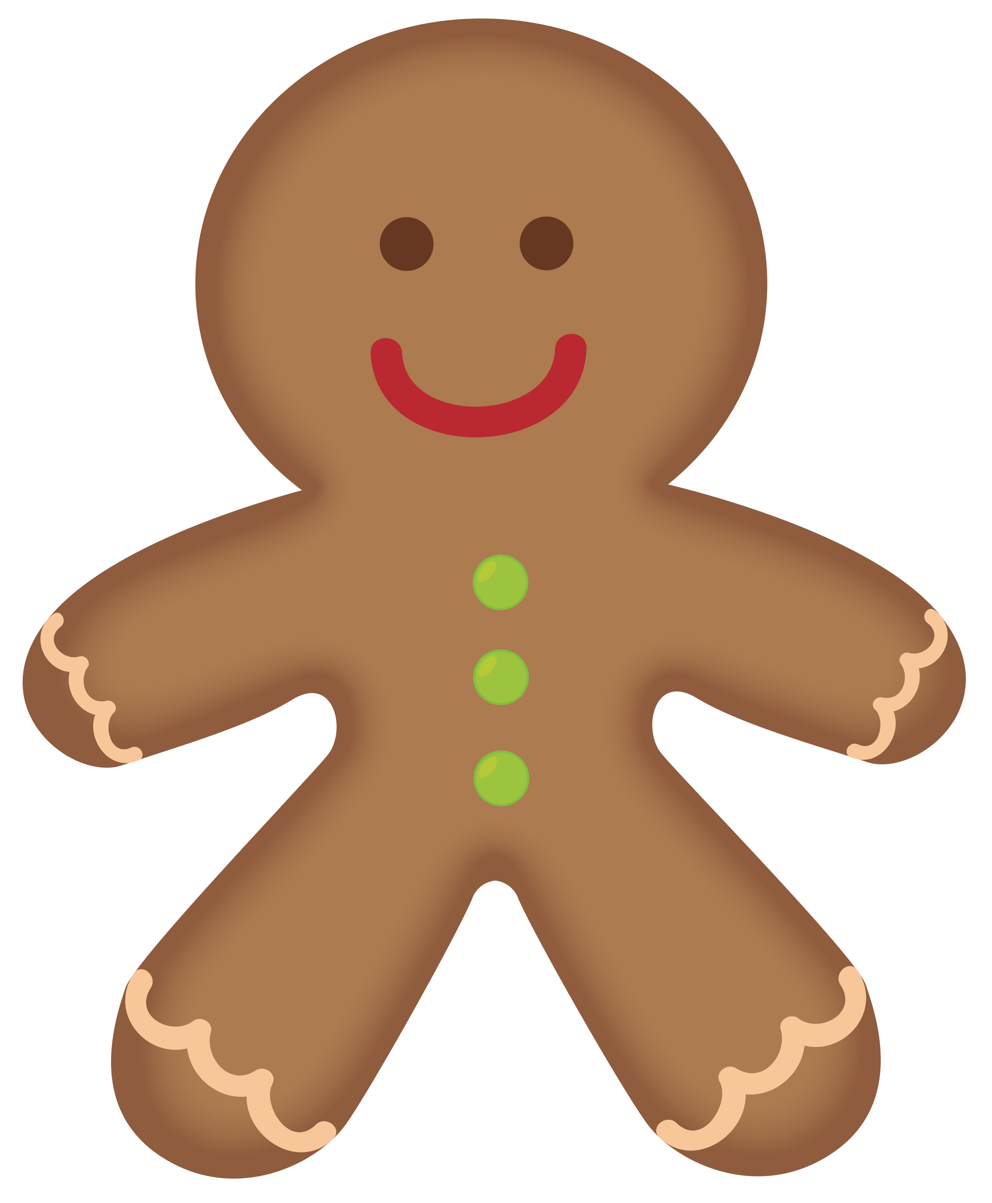image library Free man pictures clipartix. Gingerbread clipart.