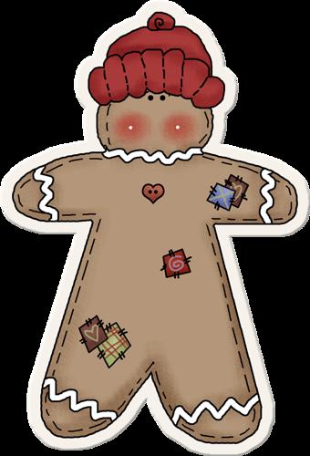 svg royalty free stock Primitive man clip art. Gingerbread clipart.
