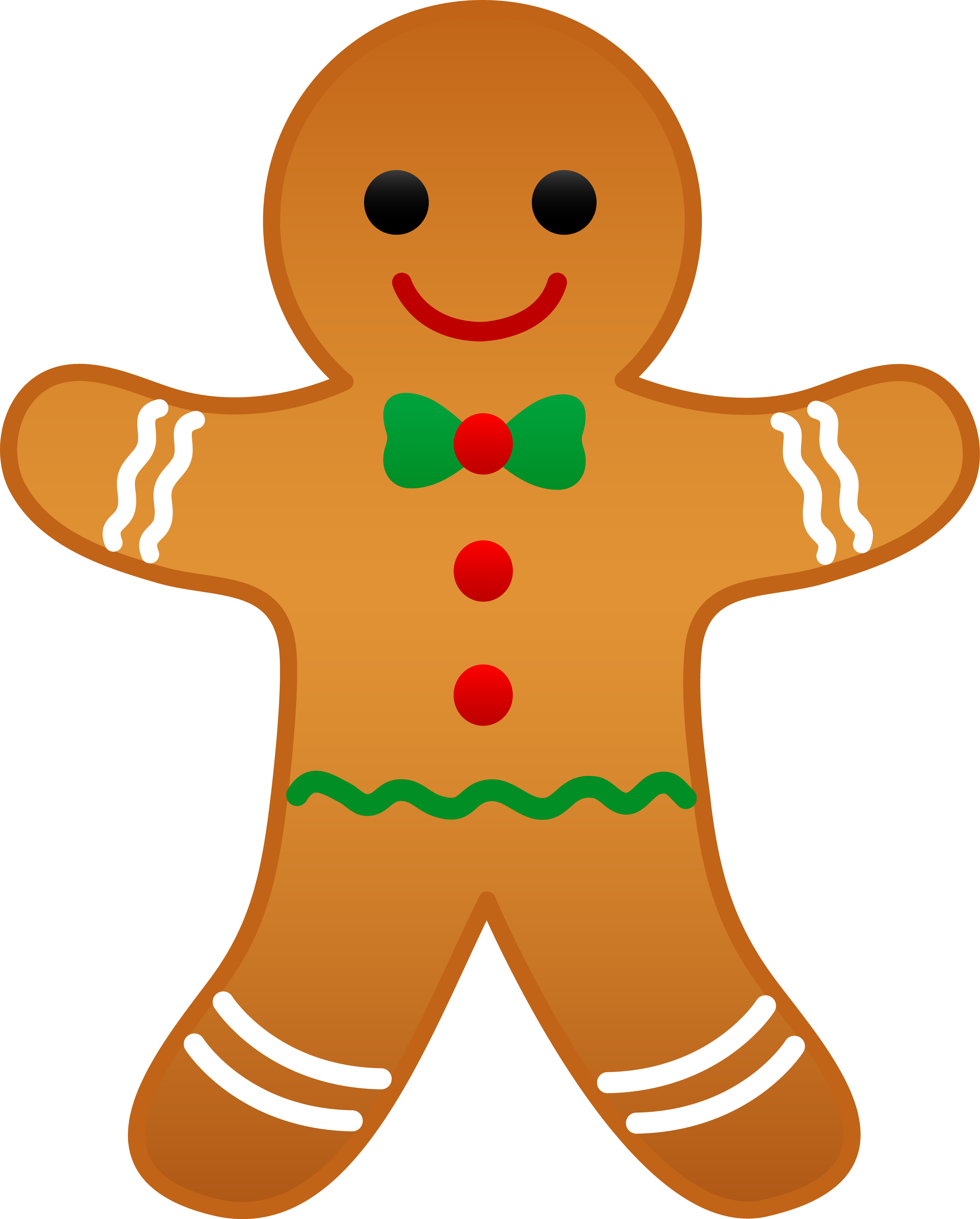 png freeuse library CHRISTMAS GINGERBREAD MAN CLIP ART