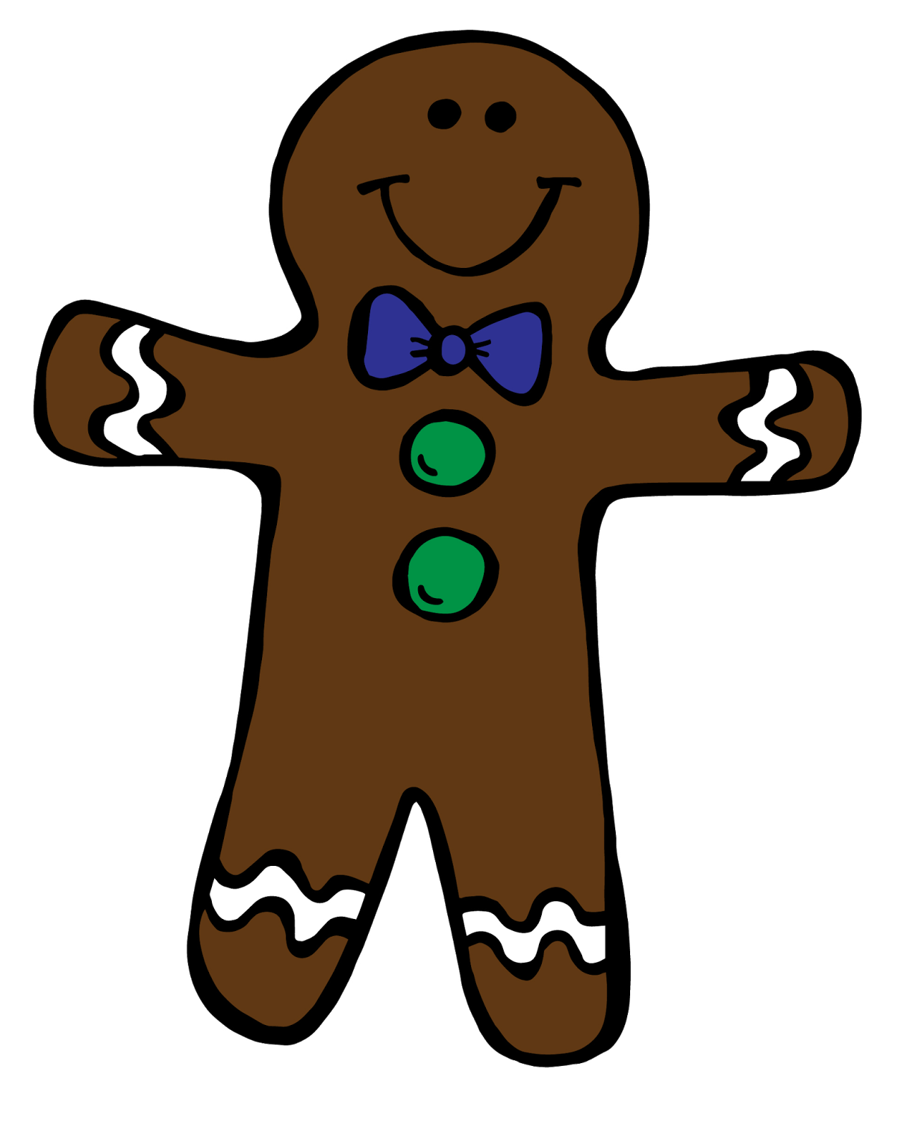 picture freeuse download Gingerbread Boy And Girl Clipart