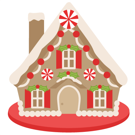 clip freeuse stock gingerbread house clipart #64043657