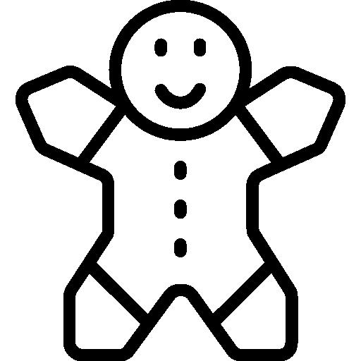 png transparent download Food restaurant dessert sweet. Gingerbread man clipart black and white
