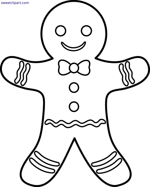 clip royalty free library gingerbread man Archives