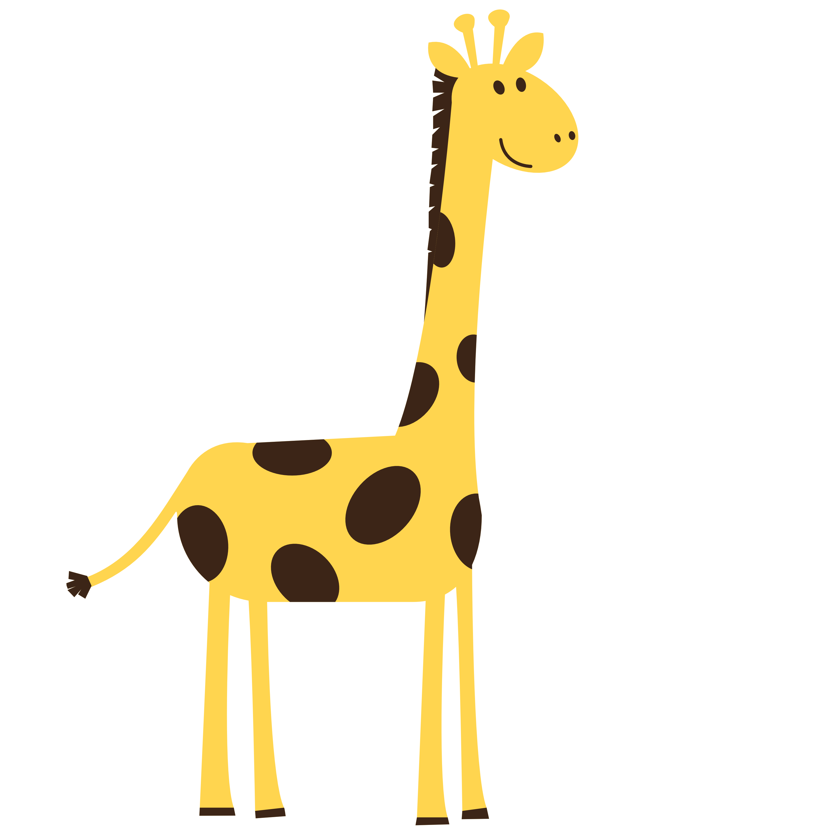 clip art transparent Giraffe clipart. Top free image .