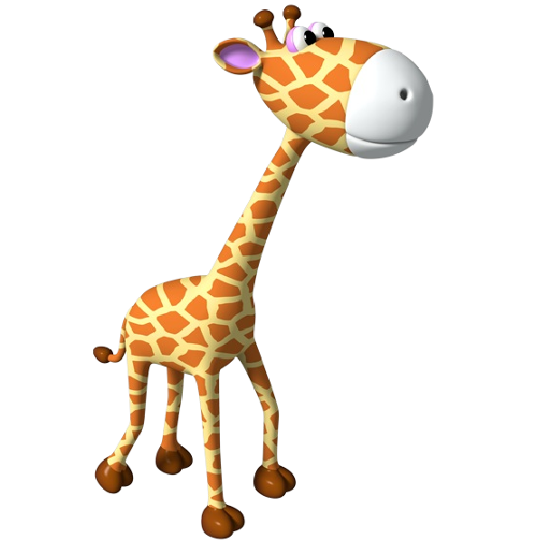 picture royalty free library Simple outline cute applique. Giraffe clipart