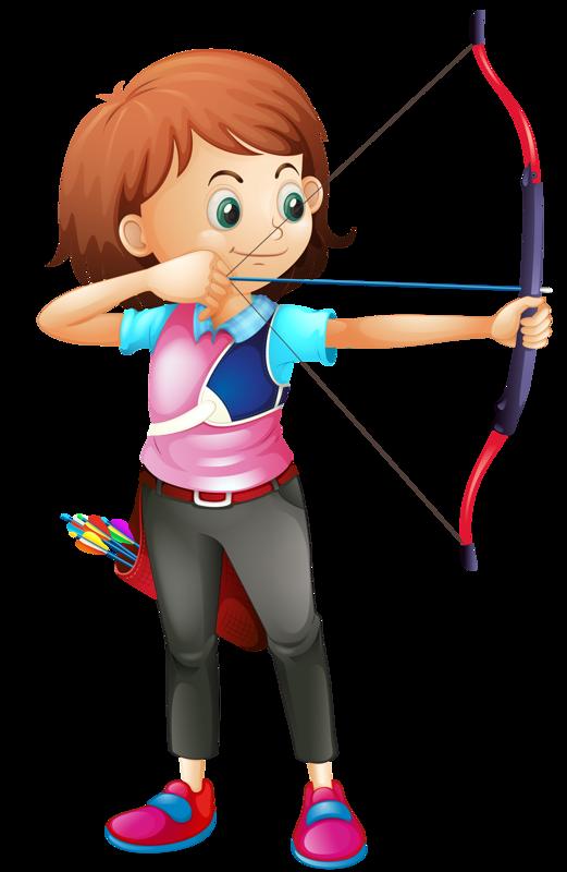clip art free Lis kuvia https fi. Girl archery clipart