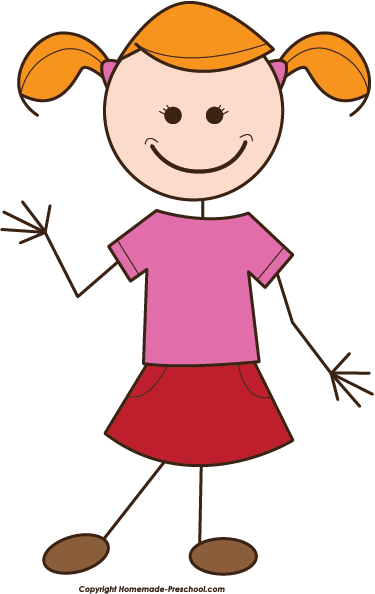 svg library stock Girl clipart.