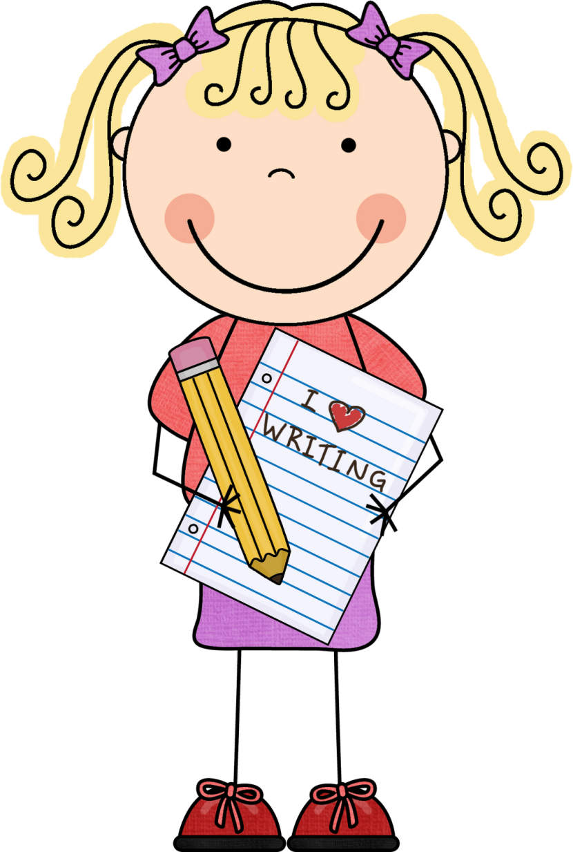 clip art black and white download Journalist girl free on. Writer clipart interactive writing