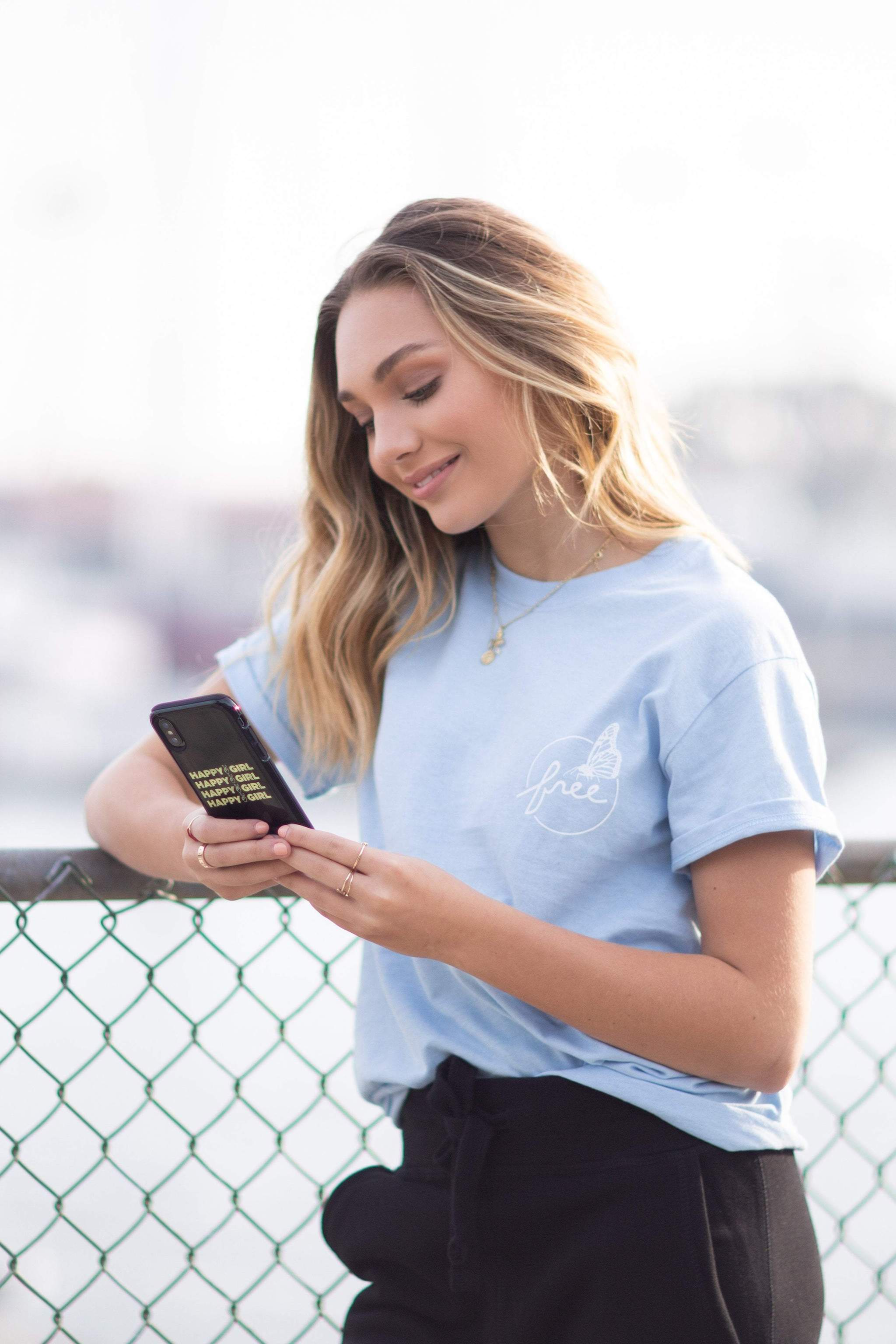 image free stock Girl phone. Maddiegirl happy case by.