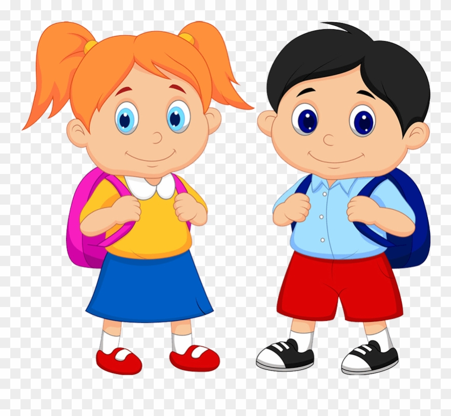 image black and white Girl student working clipart. Summer vacation dates boy.