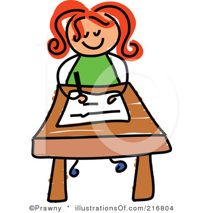 jpg royalty free download Free download best . Girl student working clipart.