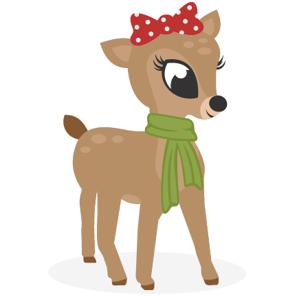 vector black and white download Girl svg reindeer. Cutting files for scrapbooking