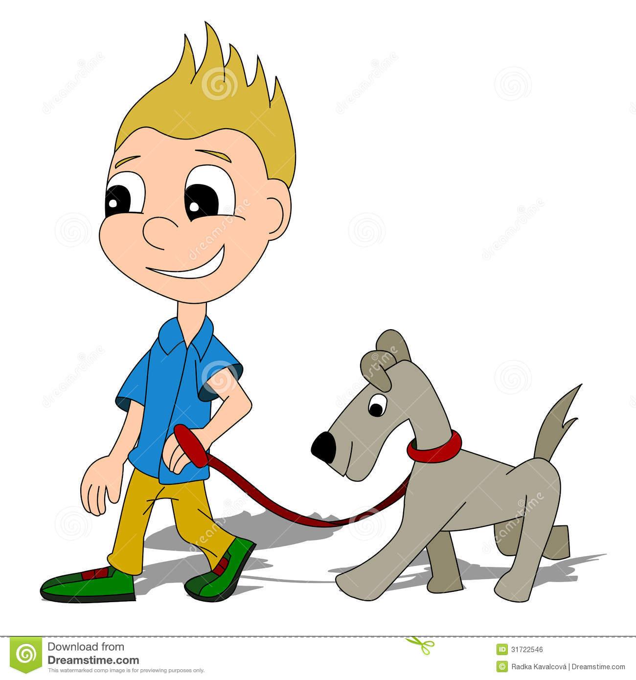 jpg download Free cartoon download clip. Girl walking dog clipart