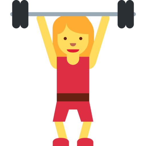 png library barbell clipart female #76422510
