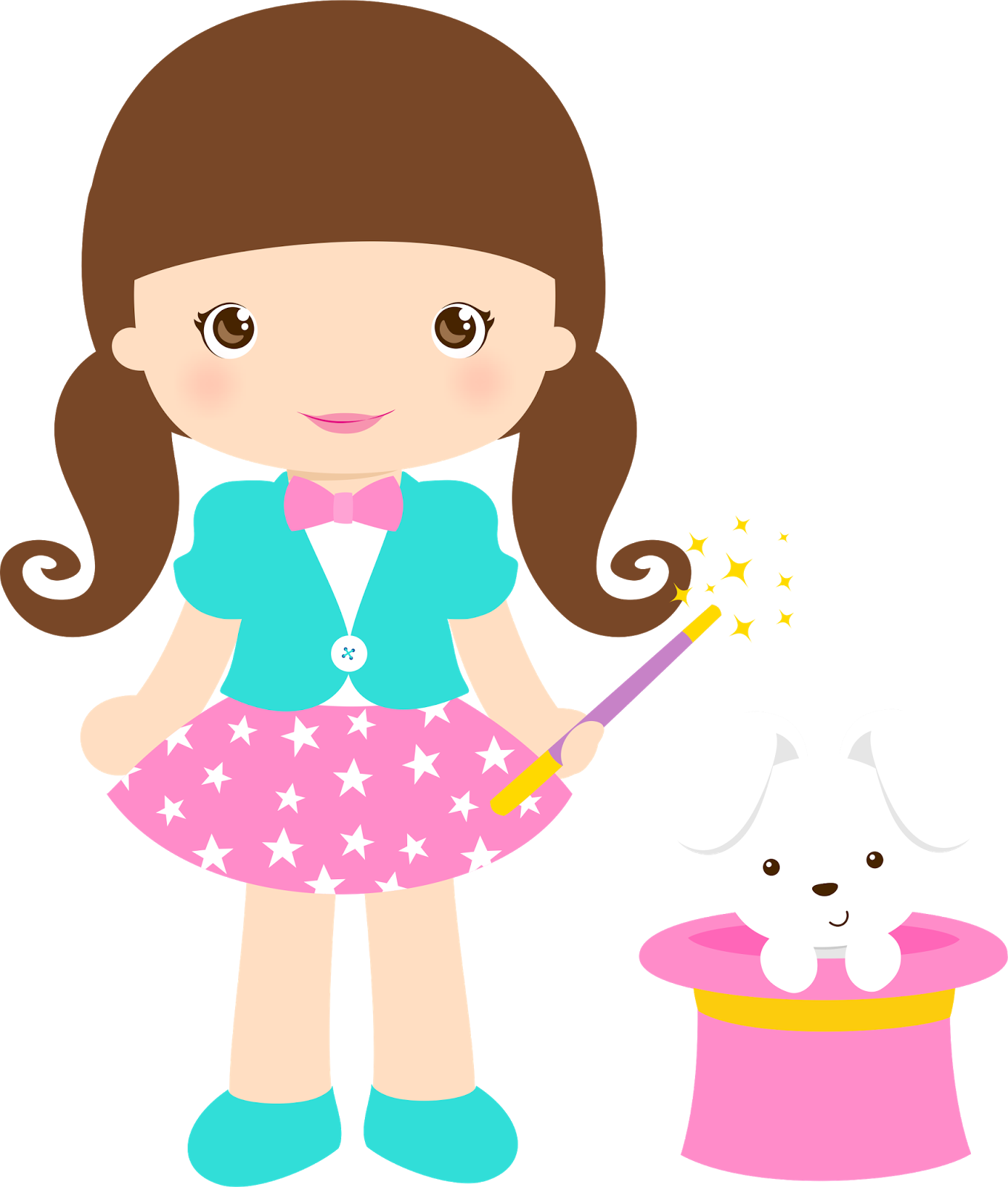 image black and white stock Girls clipart. Clown png cumplea os