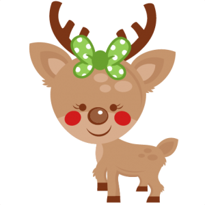 png library Girl svg reindeer. My miss kate cuttables