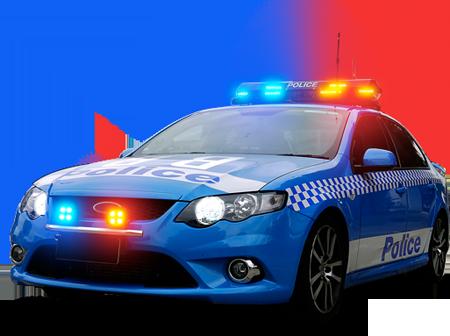 jpg freeuse Blue Police Car PNG Transparent Blue Police Car