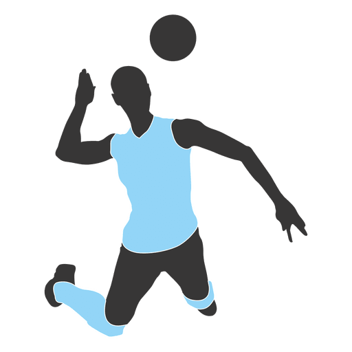 picture free Volleyball Girl Silhouette at GetDrawings