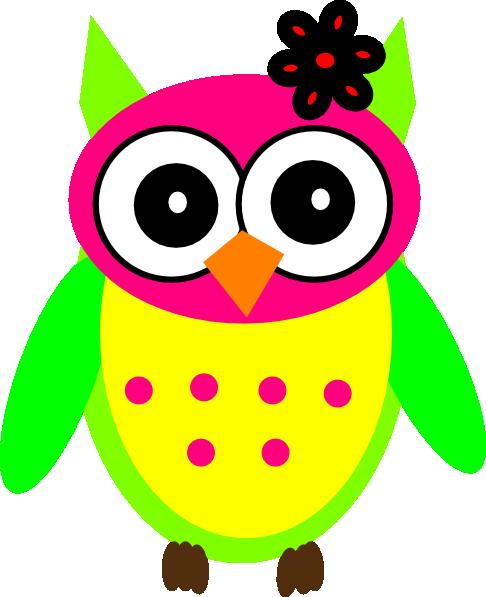 image She owl clip art. Girly clipart