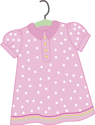 vector library library Cliparts girl clothes free. Girly clipart garment