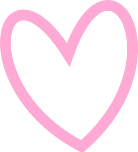 banner library Girly clipart heart. Pink drawing at getdrawings