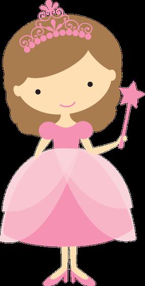 image transparent download Girly clipart princess. Princesinhas minus clip art.