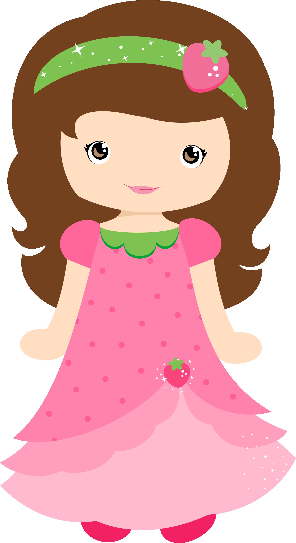 image freeuse library Moranguinho grafos strawberrygirl png. Girly clipart princess.