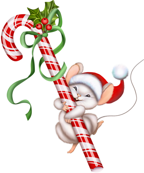 png library stock Christmas Mouse Clip Art