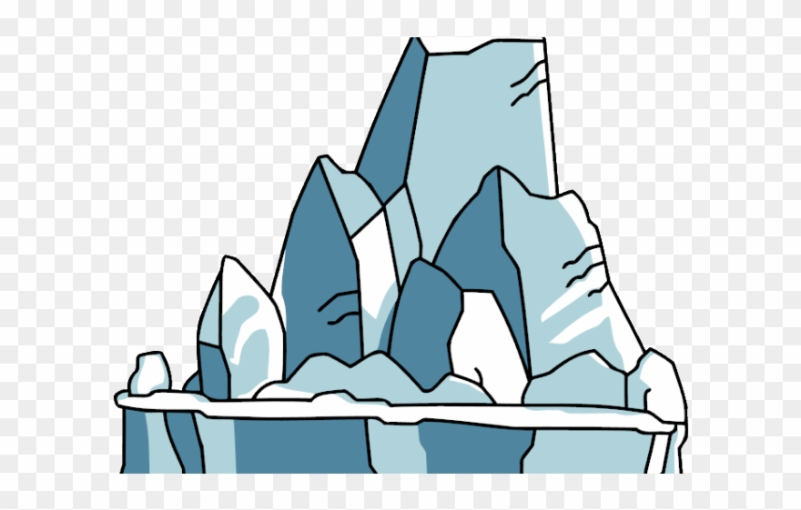 graphic free library Ice iceberg png download. Glacier clipart