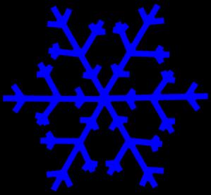 png freeuse Glacier clipart. Blue snowflake clip art
